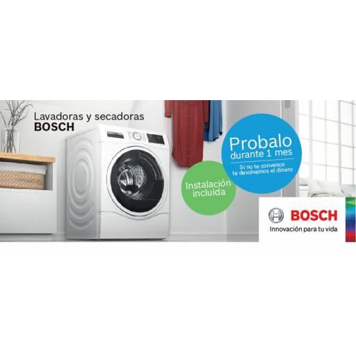 Lavarropas y secarropas Bosch 1 mes de prueba.