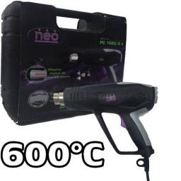 Pistola De Calor Neo 2000w Hasta 600° Con Valija Pc1060
