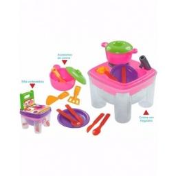 Juguete Cocina Silla Con Accesorios Ideal Para El Verano