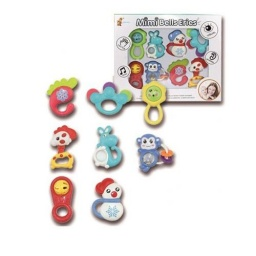 Juguete Didáctico Para Bebés Set De 8 Sonajeros - Acerix
