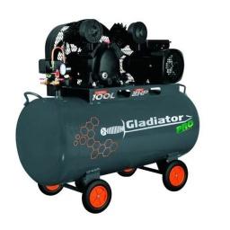 Compresor De Aire 100 Litros Gladiator Pro 2hp 8bar Ce7100
