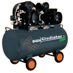 Compresor De Aire 100 Litros Gladiator Pro 3hp 8bar Ce810