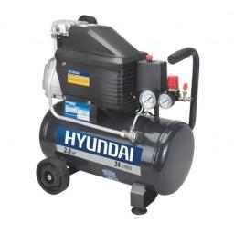 Compresor De Aire Hyundai 2hp 24lt 1 Año Garantia Acerix