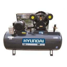 Compresor De Aire 300 Litros Hyundai Trifasico 5.5hp Acerix