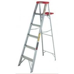 Escalera Cuprum De Aluminio 0.91m Altura 3 Peldaños Acerix