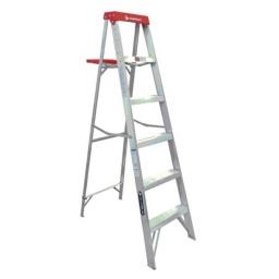 Escalera Cuprum De Aluminio 1.83m Altura 6 Peldaños Acerix