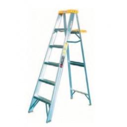 Escalera Cuprum De Aluminio 2.74m Altura 9 Peldaños Acerix