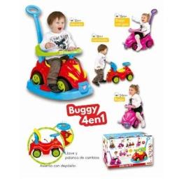 Juguete Buggy 4 En 1 Con Llave Y Palanca De Cambios - Acerix