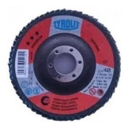 Disco Flap 4½'' Standar Tyrolit Caja X10 Unidades - Acerix