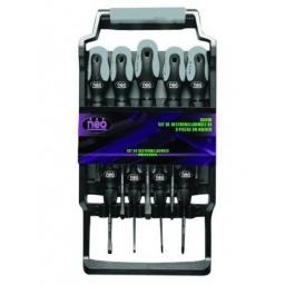 Set 9 Destornilladores Neo Phillips / Paleta D809h Acerix