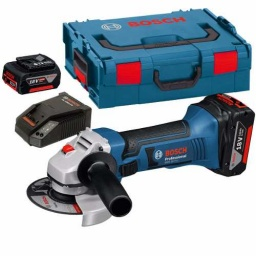 Amoladora Bosch A Batería 4 1/2 115mm 18v 2 Bat Gws18v-li