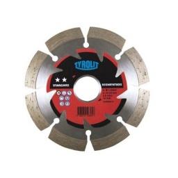 Disco Diamantado Segmentado 4½'' Tyrolit X1.9mm - Acerix