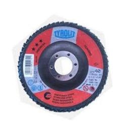 Disco Flap Ceramicado 4½'' Tyrolit Caja X10 Unidades Acerix