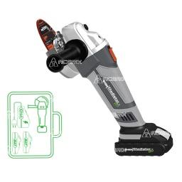 """Amoladora a Bateria 18V 4 1/2"""" Gladiator  - Acerix"""