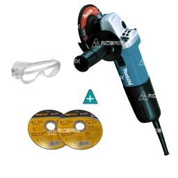 Amoladora Makita 4 1/2 9557hng 850w + Regalo - Acerix