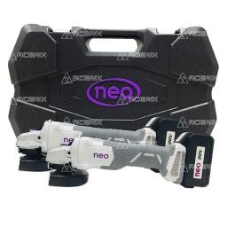 """Kit Neo 20V 2 Amoladora 4 1/2"""" a Batería + Maletín 2AA1015/20K2 - Acerix"""