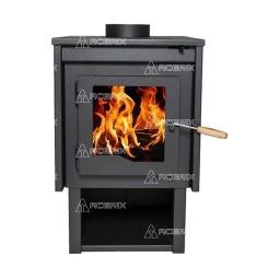 Estufa Calefactor A Leña Alto Rendimiento Tromen Eco Del Sur - Acerix