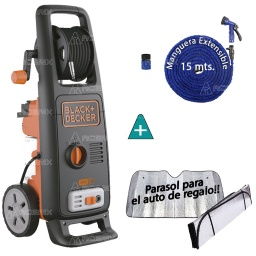 HIDROLAVADORA BLACK + DECKER 130BAR 1700W BW17 + REGALOS - Acerix