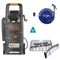 HIDROLAVADORA BLACK + DECKER 140BAR 2000W BW20 + REGALOS - Acerix
