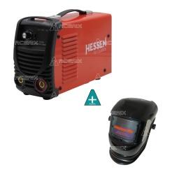 Soldadora Inverter Hessen Pro 130 amp + Careta Fotosensible