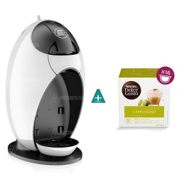 CAFETERA DOLCE GUSTO JOVIA + CAPSULAS DOLCE CAPUCCINO
