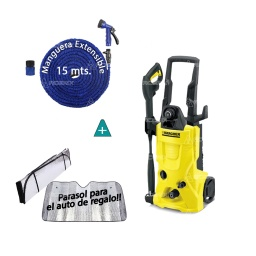 Hidrolavadora Karcher K4 100% Italiana 130bar + Regalo