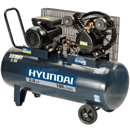 Compresor De Aire 100 Litros Hyundai 2hp - Acerix