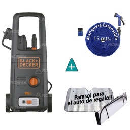 HIDROLAVADORA BLACK + DECKER 120BAR 1500W BW15 + REGALOS