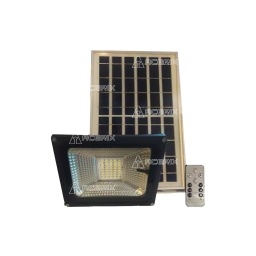 FOCO SOLAR LED REFLECTOR CON PANEL SOLAR INDEPENDIENTE 30W