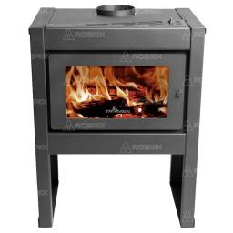 Estufa Calefactor A Leña Alto Rendimiento Tromen Tr 12001 + Regalos