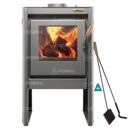 Estufa Calefactor A Leña Alto Rendimiento Tromen Chalten + Regalos