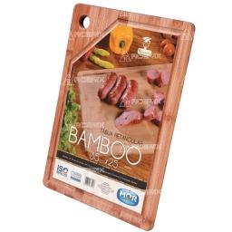 Tabla Picar Asado Parrilla Bambú 35 x 25cm Muy Resistente