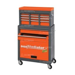 Gabinete Organizador Metalico 8 Cajones 616x660mm Gh7001