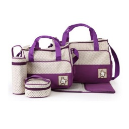 Bolso Maternal 5 Piezas Varios Colores