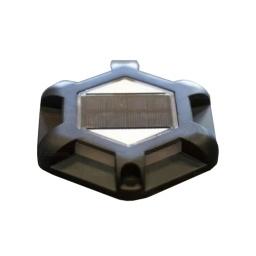 Farol solar de piso tipo tortuga plastico - Acerix