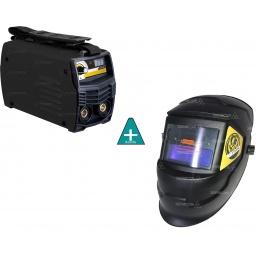 Soldadora Inverter Apta P/Generador Convertible A Tig+Careta