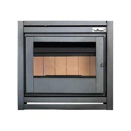 Estufa Calefactor A Leña Empotrable Tromen Hogar Alto Rend.