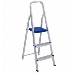 Escalera De Aluminio Mor 3 Escalones Liviana Acerix