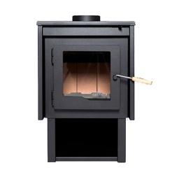 Estufa Calefactor A Leña Alto Rendimiento Tromen Tronador Del Sur