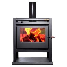 Estufa Calefactor A Leña Alto Rendimiento Tromen Calafate