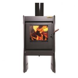 Estufa Calefactor A Leña Alto Rendimiento Tromen Chalten