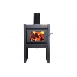 Estufa Calefactor A Leña Alto Rendimiento Tromen Tr 7001