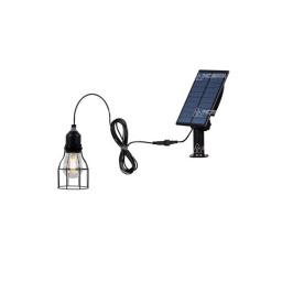 LAMPARA COLGANTE BINTAGE SOLAR CAMPING CARPA
