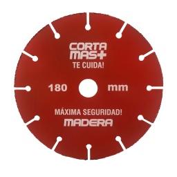 DISCO DE CORTE DE MADERA PARA AMOLADORA CORTE SEGURO