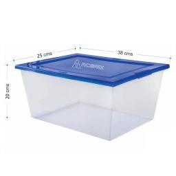 Caja Organizadora Organizador Tapa Plastica