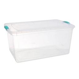 Caja Organizadora Organizador Plastico Tapa Con Cierres