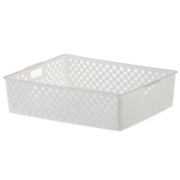 Caja Organizadora Cesto Quadratta Organizador Calado