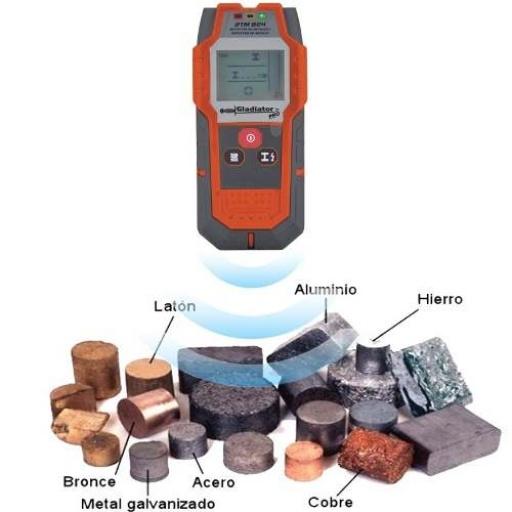 Detector De Metales Gladiator Dtm804 Hierro Acero Aluminio
