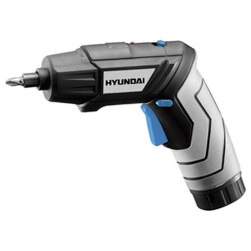 Atornillador A Batería Hyundai C/valija Y Accesorios Acerix