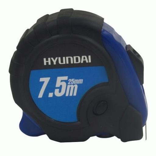 Cinta Metrica Hyundai Con Goma 7.5m X 25mm - Acerix